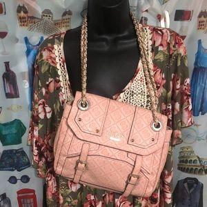 Rare Guess light pink shoulder/crossbody combo bag